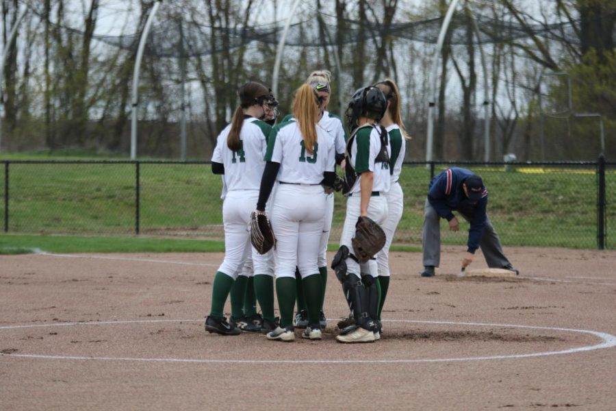 Varsity softball completes sweep against Ottawa Hills