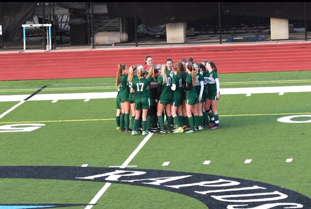 First+half+offensive+explosion+pushes+girls+varsity+soccer+past+Holt+4-0+in+District+semifinal