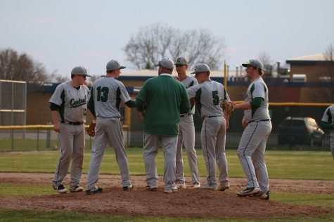 JV baseball splits doubleheader with EGR