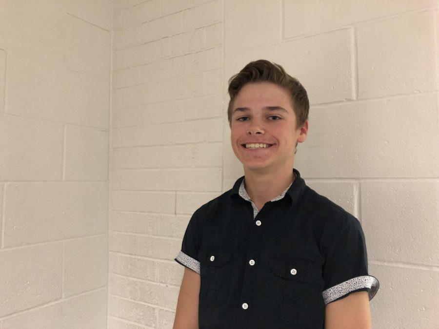 Student Council Q&A: Logan Verlinde