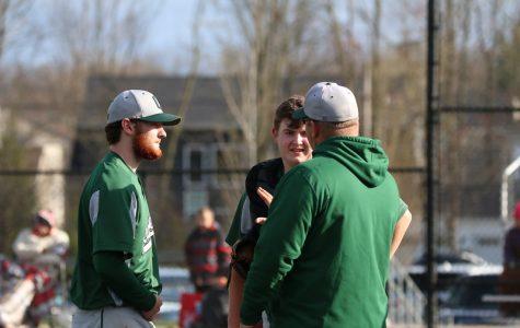 Varsity baseball mercies Lowell 15-1