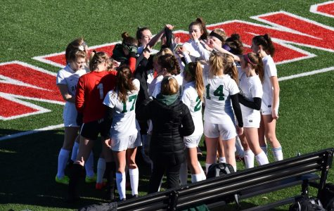 Led by freshmen offensive firepower, girls JV soccer claims conference championship in 14-1-1 season
