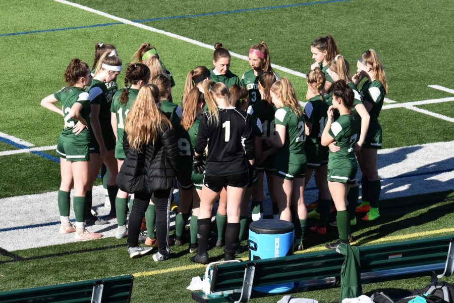 Girls JV soccer inches closer to conference championship with 5-0 win over Lowell