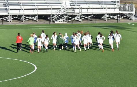 Girls varsity soccer picks up a massive 2-1 victory over rival Forest Hills Northern