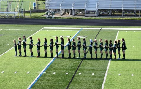 Girls varsity soccer wins defensive slugfest against Grand Ledge 1-0 in district opener