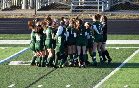 Girls varsity soccer suffers a heartbreaking season-ending loss to Novi 3-2 in PKs