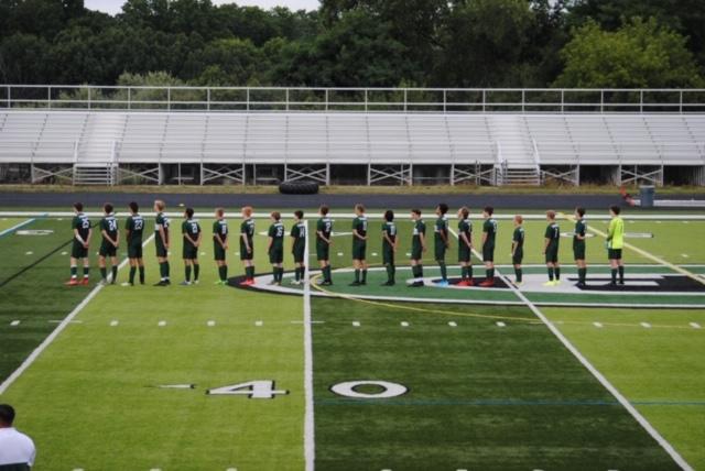 Boys varsity soccer ties Grand Rapids Christian 0-0