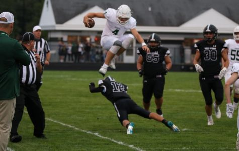 Improved passing game and continued success on the ground leads varsity football to dominating 30-7 win over West Ottawa