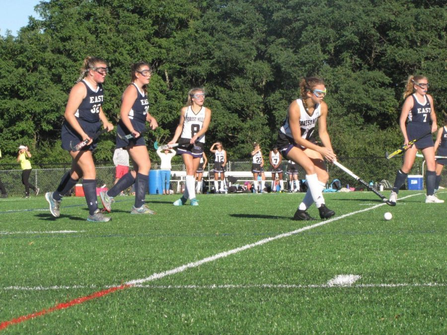 Girls varsity field hockey loses fierce game against Novi 3-1