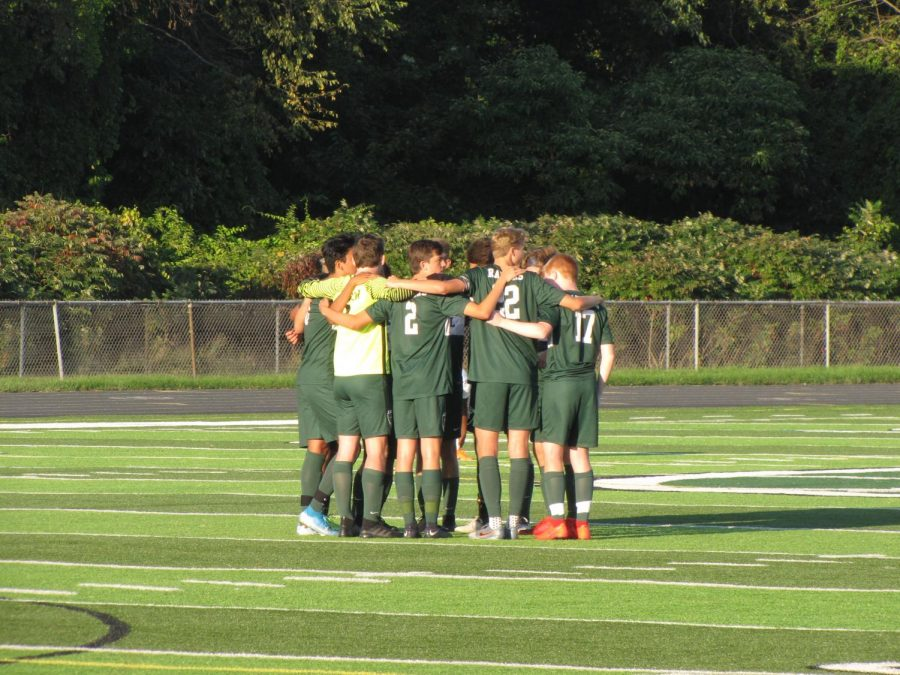 Penalty kick creates offensive success in 2-1 win for boys varsity soccer over Northview
