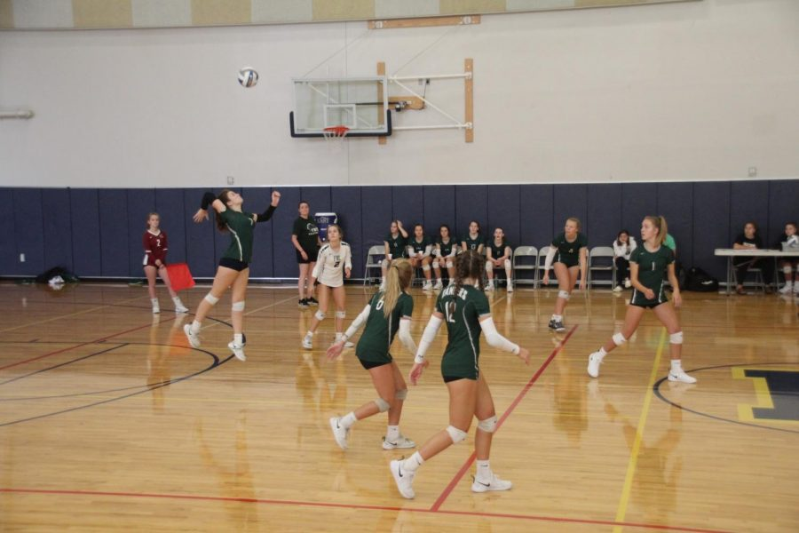 JV+Volleyball+team+advances+to+the+Silver+Power+Pool+in+the+EGR+JV+Invite