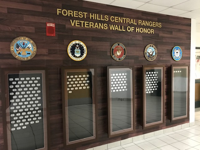 Q&A with Brad Anderson - Funding for the Veteran's Wall of Honor