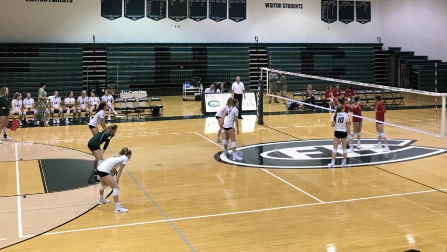JV Volleyball competes in two quads the first week in season