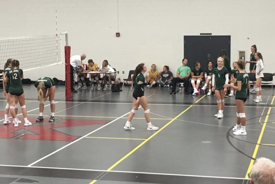 JV Volleyball secures rivalry win over Forest Hills Northern