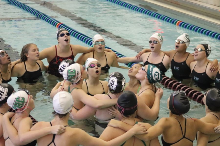 Girls+swim+and+dive+defeats+Grand+Rapids+Catholic+Central+103-74