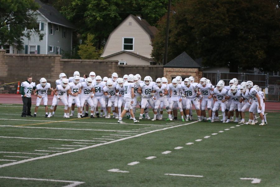 Varsity+Football+inches+closer+to+postseason+berth+with+41-12+win+over+Ottawa+Hills
