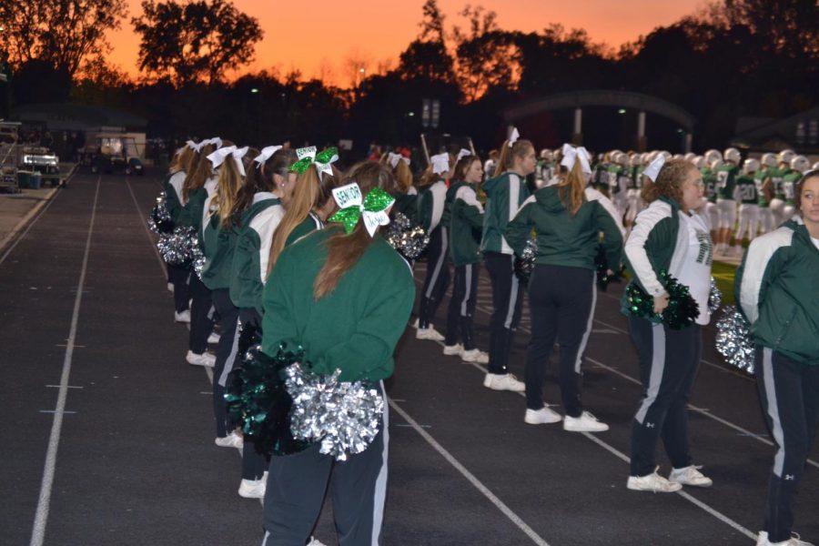 Varsity Football Senior Night vs. Greenville: Photo Gallery