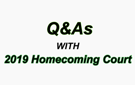Q&As with 2019 Homecoming Court