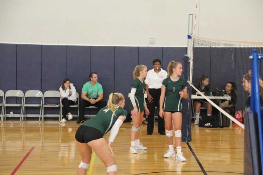 FHC JV Volleyball team beats Cedar Springs to 2 out of 3 matches
