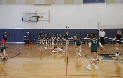 FHC JV Volleyball team beats Greenville in two sets