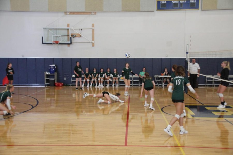 FHC+JV+Volleyball+team+beats+Greenville+in+two+sets