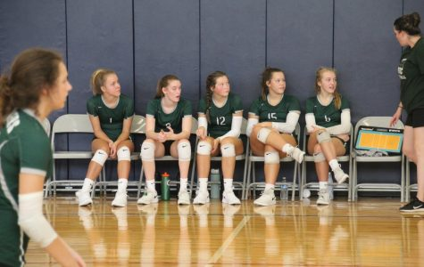 JV Volleyball earns two hard fought wins against Mona Shores