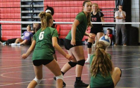 Freshman volleyball clinch another conference road victory against Cedar Springs