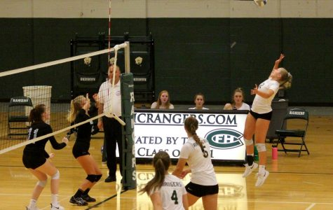 Girls freshman volleyball trounces Greenville 2-0