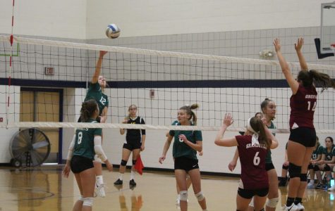 Freshman volleyball gains hard fought victory against Mona Shores on the road