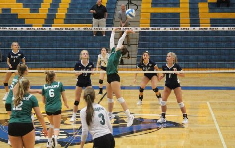 Overall team effort guides girls freshman volleyball team to a 5-1 record at the Cedar Springs Invitational