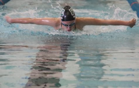 Girls swim and dive wins its final dual meet versus Northview