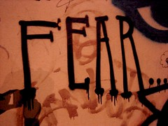 a celebration of fear — A Free Verse