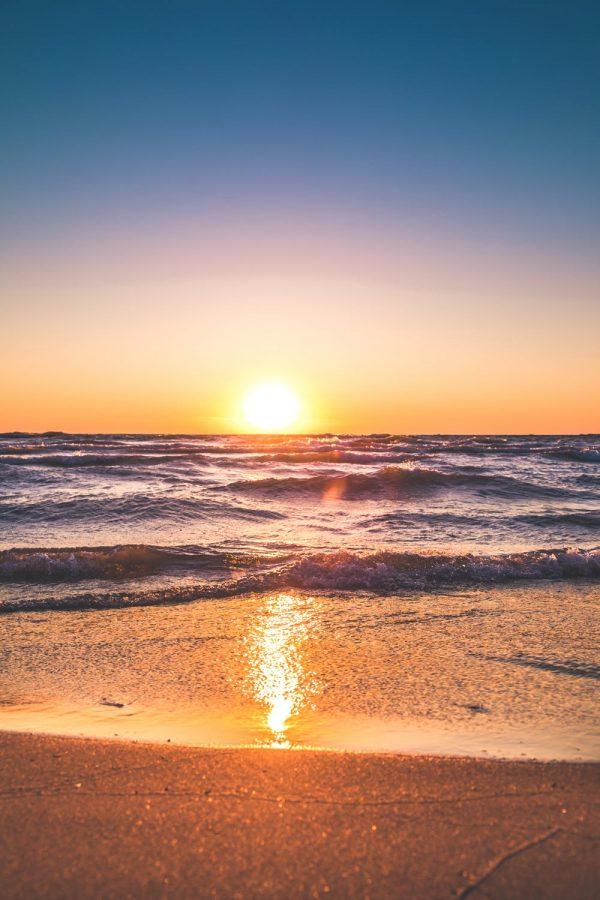 A+beach+sunset.