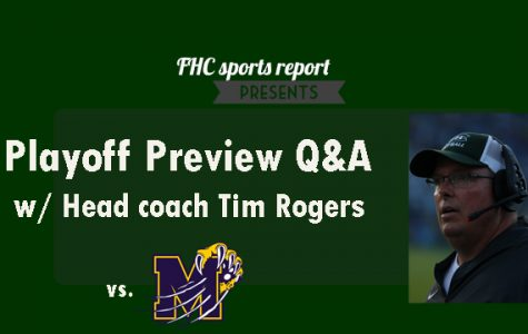 Playoff Preview Q&A with Head coach Tim Rogers