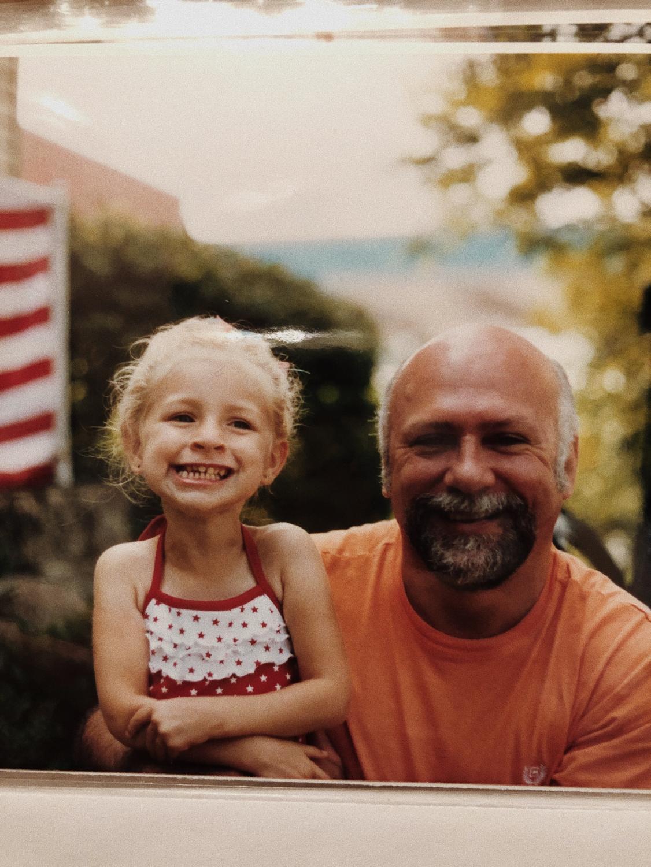 My papa and I