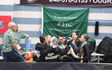 Girls swim and dive finishes season with a strong state meet