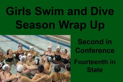 Girls swim and dive finish a dominant season