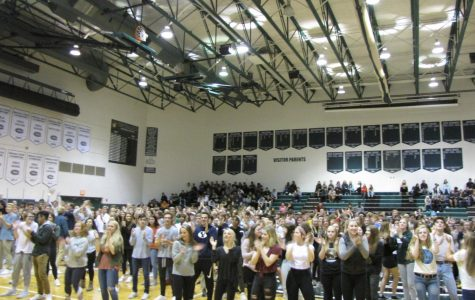 The Ranger Strong Assembly wrapped up a week of giving with school pride and entertainment