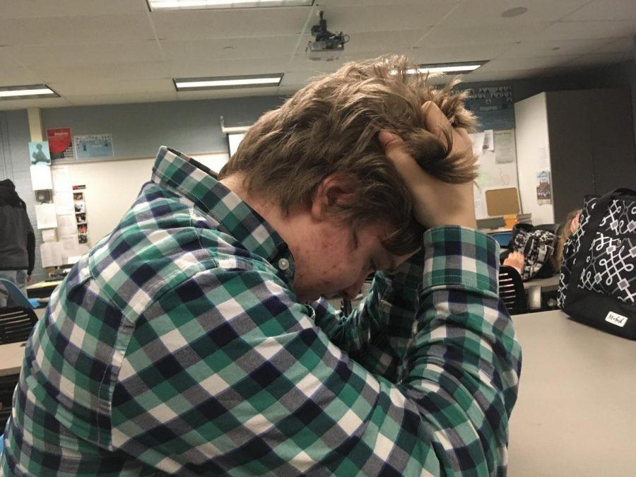 Stress roams the halls of FHC