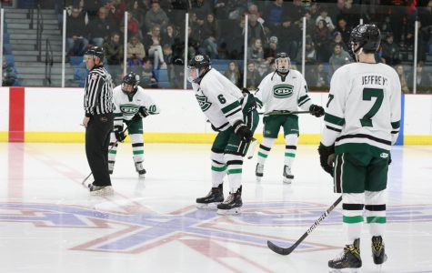 Hockey drops opening weekend games with two narrow losses against Byron Center and Allen Park