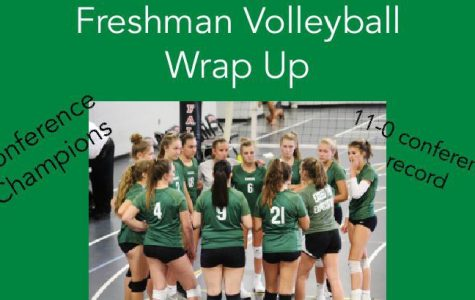 Freshman volleyball end its season as conference champions thanks to undefeated conference record