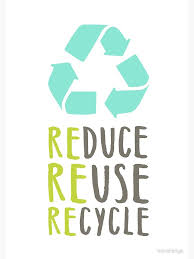 Reduce. Reuse. Recycle. It isn't just for elementary kids.