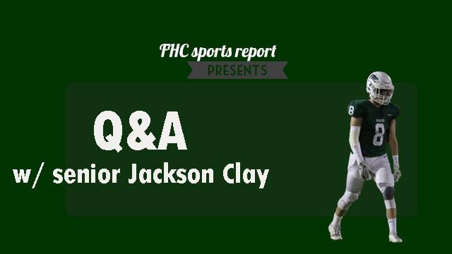 Q&A with varsity footballs Jackson Clay