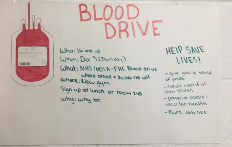 Students who participated in the recent blood drive saved a collective 66 lives