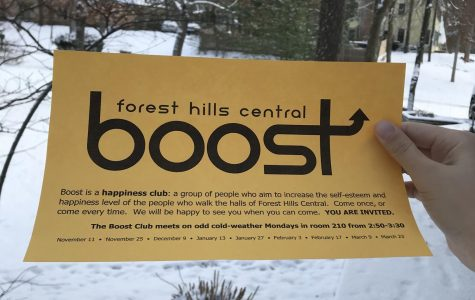 The Boost Club is working together to uplift confidence and morale in themselves and their peers
