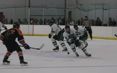Hockey climbs back to .500 with two wins on east side of the state