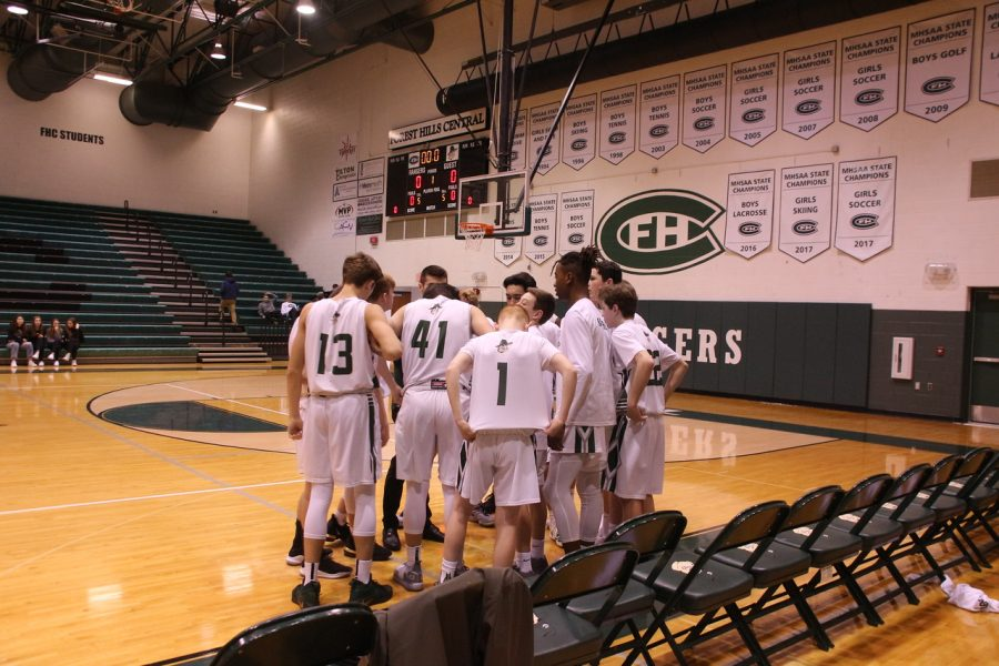 Boys+JV+Basketball+starts+of+the+season+with+a+win+over+FHE