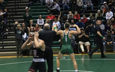Caden Jacobs has 3 pins en route to becoming Kent County Champion