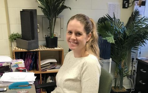New Spanish teacher Kate Stacey is loving her first semester at FHC