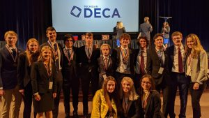 DECA members decisively proved themselves at districts